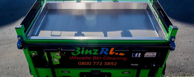 Wheelie Bin Cleaning Teesside | BinzRuz ltd | 5* Cleaning Service